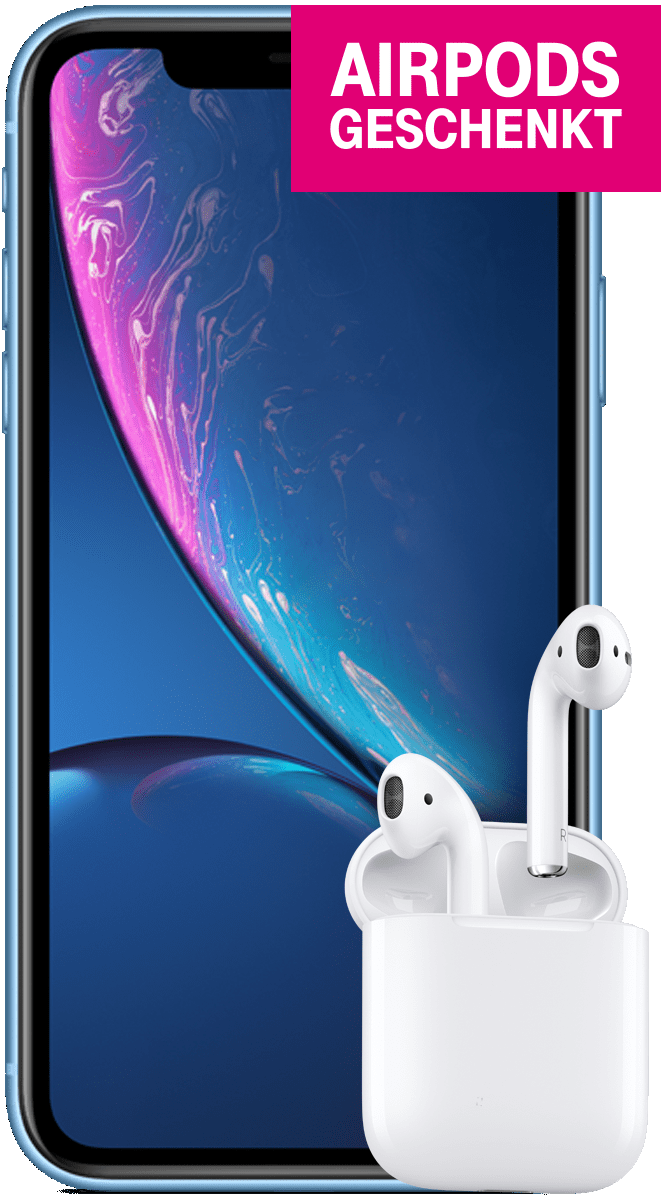 Apple iPhone XR + AirPods